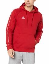 adidas Herren Core 18 Kapuzenpullover, rot (Power Red/White), L - 1