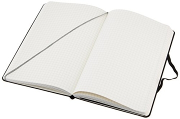 AmazonBasics Notizbuch, klassisches Design, groß, kariert - 3