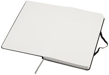 AmazonBasics Notizbuch, klassisches Design, groß, kariert - 5