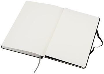 AmazonBasics Notizbuch, klassisches Design, groß, kariert - 6