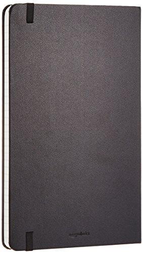 AmazonBasics Notizbuch, klassisches Design, groß, kariert - 7