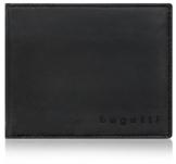 Bugatti Lima Geldbörse Herren Leder – Portemonnaie Herren Querformat Schwarz – Geldbeutel Portmonee Wallet Brieftasche Männer Portmonaise - 1
