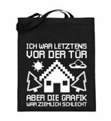 Chorchester Ideal für Gaming Zocker und Nerds - Jutebeutel (mit langen Henkeln) - 1