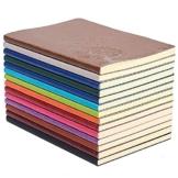 GRT A5 PU Leder Bunte Schreiben Notebook Journal Tagebuch Notizbuch Täglichen Notizblock Nette Reise Journal Notizbücher (Set von 4 Zufällige Farbe) - 1