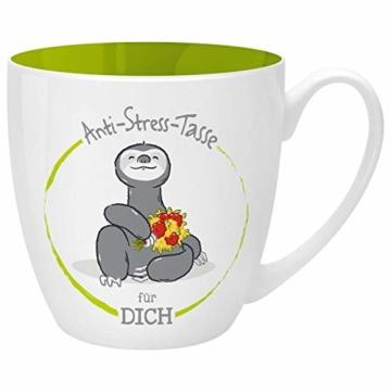 Gruss und Co 46267 Anti-Stress Tasse für Dich, 45 cl, Geschenk, Kaffeetasse - 1
