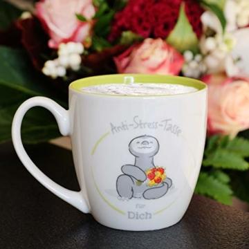 Gruss und Co 46267 Anti-Stress Tasse für Dich, 45 cl, Geschenk, Kaffeetasse - 2