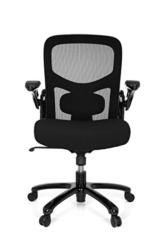 hjh OFFICE 736150 Bürostuhl Instructor SW XXL Stoff Schwarz Schwerlast Stuhl bis 220 kg belastbar - 1