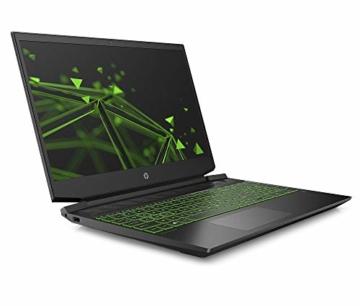 HP Pavilion Gaming 15-ec1099ng / 15-ec1206ng (15,6 Zoll / FHD IPS) Gaming Laptop (AMD Ryzen 5 4600H, 8GB DDR4 RAM, 512GB SSD, Nvidia GeForce GTX 1650 4GB ) Windows 10 Home, Schwarz - 2