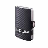 I-CLIP ® Geldbörse Carbon-Optik, Mettalic-Grey (In 2 Varianten Erhältlich) - 1