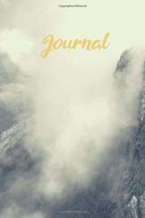 Journal: Berggipfel in Wolken Notizbuch I Bullet Journal I Dot Grip I DIN A5 I 120 Seiten I Tagebuch I Skizzenbuch I Reisebericht I Öko - 1