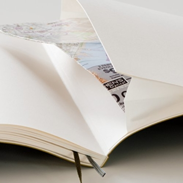 LEUCHTTURM1917 349288 Notizbuch Pocket (A6), Softcover, 123 nummerierte Seiten, dotted, Army - 6