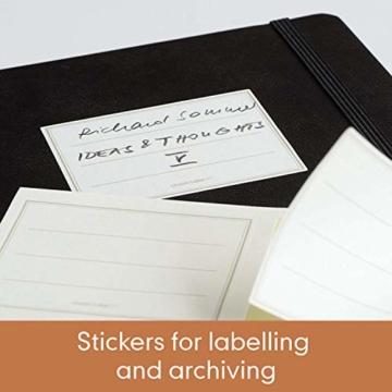 LEUCHTTURM1917 355680 Notizbuch Medium (A5), Hardcover, 251 nummerierte Seiten, dotted, Kupfer - 4