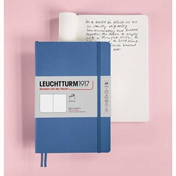 LEUCHTTURM1917 361592 Notizbuch Medium (A5), Softcover, 123 nummerierte Seiten, Salbei, dotted - 7