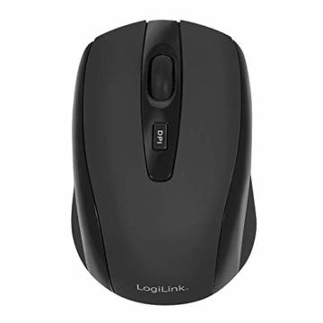 LogiLink ID0031 Wireless optische Mini Maus schwarz - 5