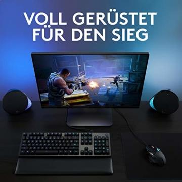 Logitech G502 HERO High-Performance Gaming-Maus, HERO 16000 DPI Optischer Sensor, RGB-Beleuchtung, Gewichtstuning, 11 Programmierbare Tasten, Anpassbare Spielprofile, PC/Mac - Deutsche Verpackung - 7