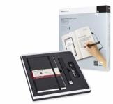 Moleskine Smart Writing Set Ellipse Smart Notizbuch Paper Tablet und Pen+ Ellipse Smartpen Notizblock (geeignet für die Verwendung mit Moleskine Pen+, Linierten Seiten) schwarz - 1