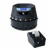 Münzzähler Euro SR1850 mit Drucker Securina24® (schwarz mit Drucker) - 1