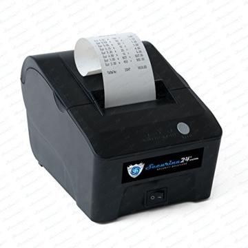 Münzzähler Euro SR1850 mit Drucker Securina24® (schwarz mit Drucker) - 3