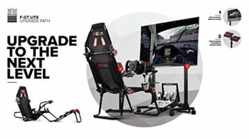 Next Level Racing® F-GT Lite Formula and GT Foldable Simulator Cockpit - 4