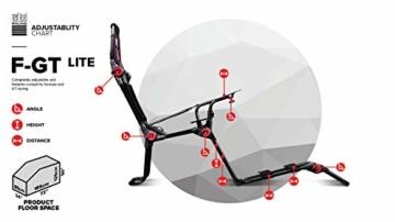 Next Level Racing® F-GT Lite Formula and GT Foldable Simulator Cockpit - 8