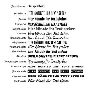 PhotoFancy Tasse mit Spruch selbst gestalten – Personalisierte Tasse mit Text beschriften (Weiß) - 2