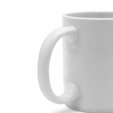 PhotoFancy Tasse mit Spruch selbst gestalten – Personalisierte Tasse mit Text beschriften (Weiß) - 4
