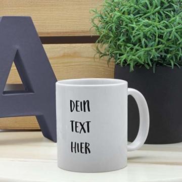 PhotoFancy Tasse mit Spruch selbst gestalten – Personalisierte Tasse mit Text beschriften (Weiß) - 7