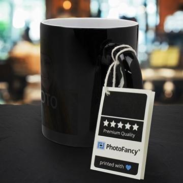 PhotoFancy® - Zaubertasse mit Foto Bedrucken Lassen - Magic Mug Personalisieren – Fototasse Zauberbecher selbst gestalten - 5