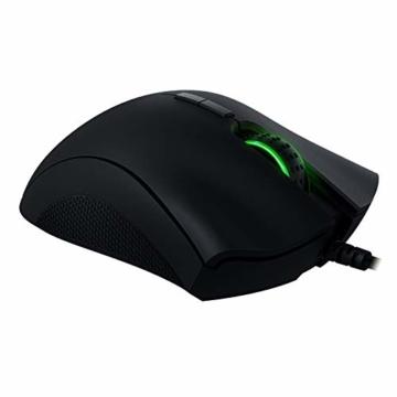 Razer DeathAdder Elite - Esports und Gaming Maus mit 16.000 DPI 5G Optischem Sensor und mechanischen Mausschaltern, schwarz - 5