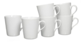 Ritzenhoff & Breker Kaffeebecher-Set Primo, 6-teilig, Porzellan - 1