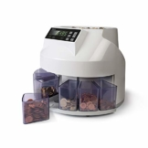 Safescan 1250 geldzählmaschine - automatischer münzzähler und sortierer für Euro Münzen - 1