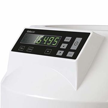 Safescan 1250 geldzählmaschine - automatischer münzzähler und sortierer für Euro Münzen - 6