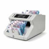 Safescan 2210 - Banknotenzähler für sortierte Geldscheine, mit 2-facher Falschgeldprüfung Grau - 1