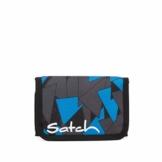 Satch Geldbeutel - Münzfach, Geldscheinfach, Sichtfenster - Blue Triangle - Blau - 1