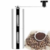 Selbstrührender Becher, automatisches Mischen, Kaffeebecher, Edelstahl, Lebensmittelqualität, selbstmischende Tasse, selbstrührende Müsli-Kaffeemühle für Kaffee, Milch, Tee, etc. (Kaffeemühle) - 1