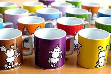 Sheepworld Wortheld-Tasse 45922, Kaffee-Tasse mit Spruch Zirkus, Porzellan, 45 cl, schwarz-weiß - 4