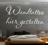 Sprüche Wandtattoo selber gestalten Wunschtext Wandaufkleber Name Datum Zitat oder Spruch mit Vorschau designen - 1