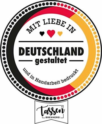 Tassenbrennerei Tasse mit Spruch Einen Scheiß muss ich - Kaffeetasse lustig - Spülmaschinenfest (Rosa) - 2