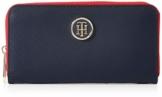 Tommy Hilfiger Damen Poppy Lrg Za Wallet Geldbörse, Blau (Tommy Navy), 14x3.5x20 cm - 1