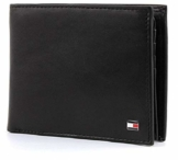 Tommy Hilfiger Herren ETON CC FLAP AND COIN POCKET Geldbörsen, Schwarz (BLACK 002), 13x10x2 cm - 1