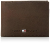 Tommy Hilfiger Herren Johnson Mini CC Flap and Coin Pocket Geldbörsen, Braun (Brown 041), 11x7x3 cm - 1