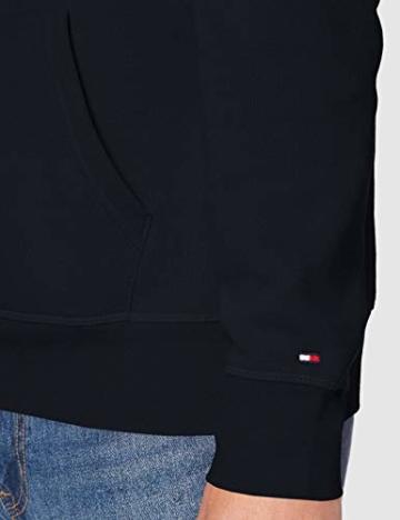 Tommy Hilfiger Herren Tommy Logo Hoody Sweatshirt, Blau (Sky Captain 403), Large (Herstellergröße:L) - 2