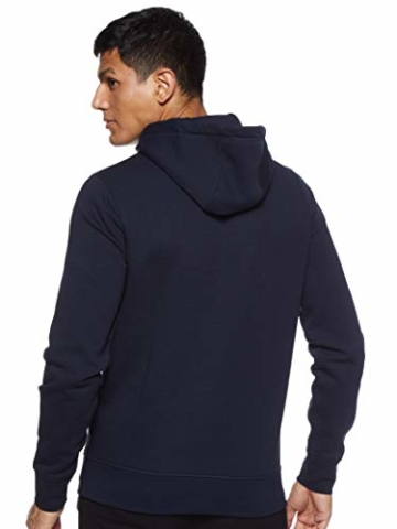Tommy Hilfiger Herren Tommy Logo Hoody Sweatshirt, Blau (Sky Captain 403), Large (Herstellergröße:L) - 3