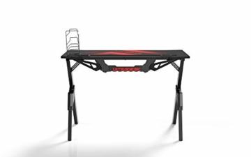 Ultradesk Action V2 - Gaming Tisch, Gamer Desk, Computertisch mit innovativem Design, Hohe Qualität, L: 110 cm, T: 59 cm, H: 75 cm - 7