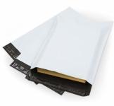 Anstore 60 Versandbeutel Plastik Versandtaschen 300x400mm, selbstklebend und blickdicht, Versandtüten aus Plastik für Kleidung und Textilien, Weiße - 1
