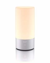 AUKEY Tischlampe, 360° Berührungssensor Nachttischlampe mit RGB Farbwechsel Tischleuchte1 Warmweißes Licht in 3 Helligkeitsstufen - 1