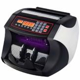Banknotenzähler für gemischte Geldscheine, Profi Geldscheinzähler Zählt sicher 1000 Geldscheine in der Minute, LCD Display mit UV- und MG-Systeme, Falschgeld-Detektor für Euro | Pfund usw - 1