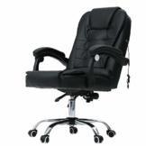 CO-Z Massage Chefsessel Bürosessel Bürostuhl Schreibtischstuhl Drehstuhl Gaming Stuhl Massage Sessel mit Massagefunktion Höhenverstellbarer Gamer Stuhl (ohne Fußstütze) - 1