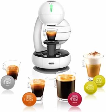 De'Longhi EDG505.W | NESCAFÉ Dolce Gusto Esperta | Kapsel Kaffeemaschine | Individuelle Getränkeabstimmung | 15 bar Pumpendruck | 1,4l Wassertank | Farbe Weiß - 5