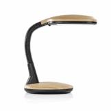 EASYmaxx LED-Tischleuchte Daylight | Tageslichtlampe, Augenschonend, Energiesparend | flexibler Lampenhals (Buche) - 1